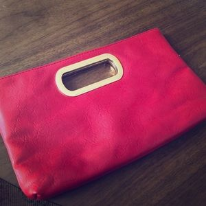 Hot Red Clutch